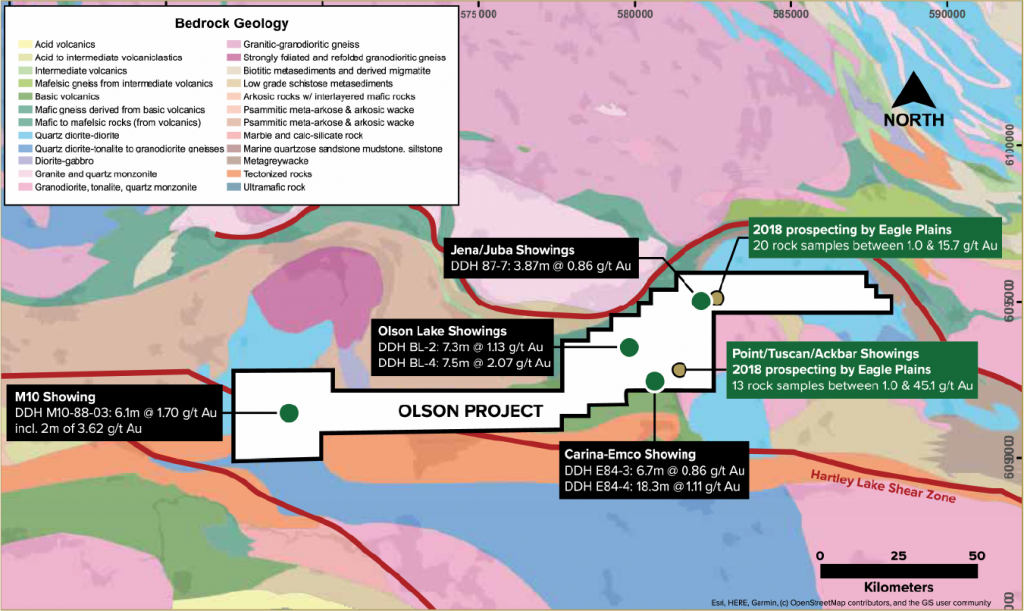 Olson - SKRR Projects Geological Indicators